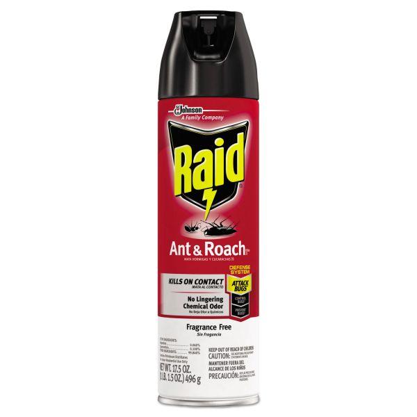 Raid Fragrance Free Ant & Roach Killer