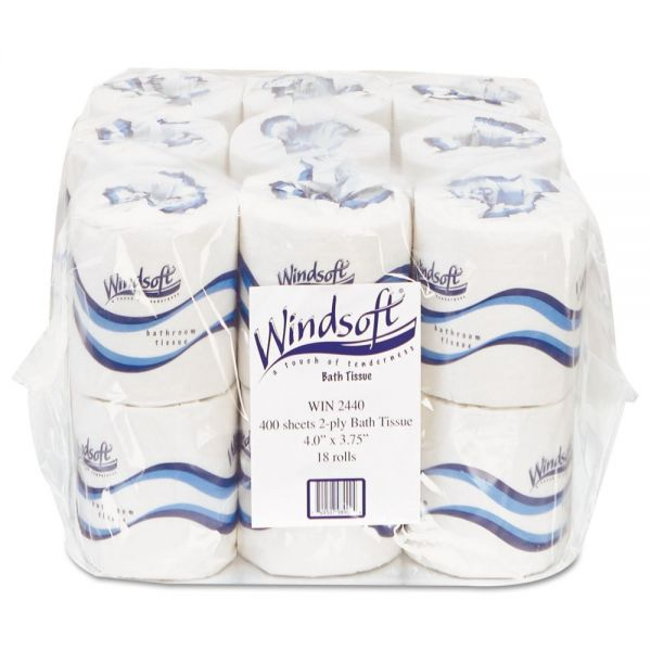 Windsoft Embossed 2 Ply Toilet Paper