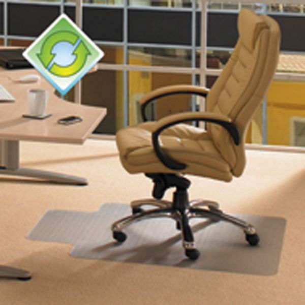 Floortex EcoTex Revolutionmat Recycled Low Pile Chair Mat