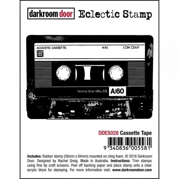 """Darkroom Door Cling Stamp 3""""X2"""""""
