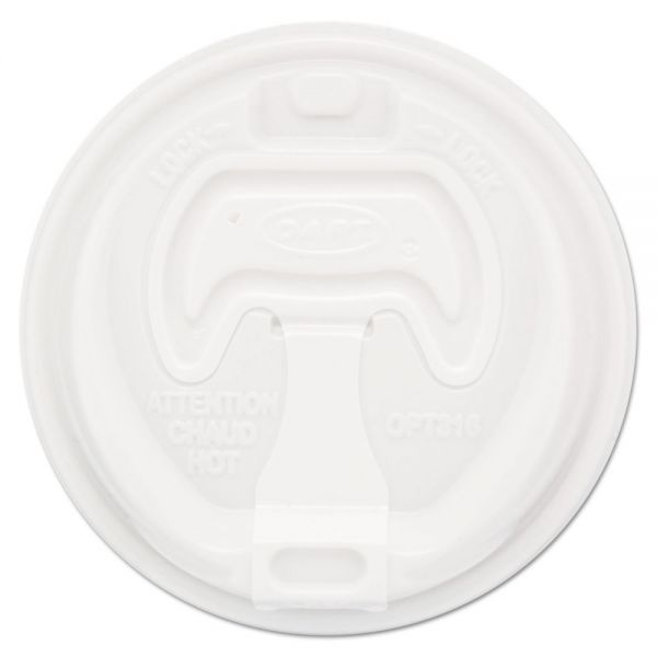 Dart Optima Reclosable Coffee Cup Lids
