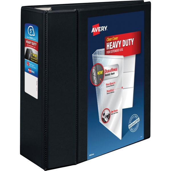 "Avery Heavy-Duty One Touch 5"" 3-Ring View Binder"