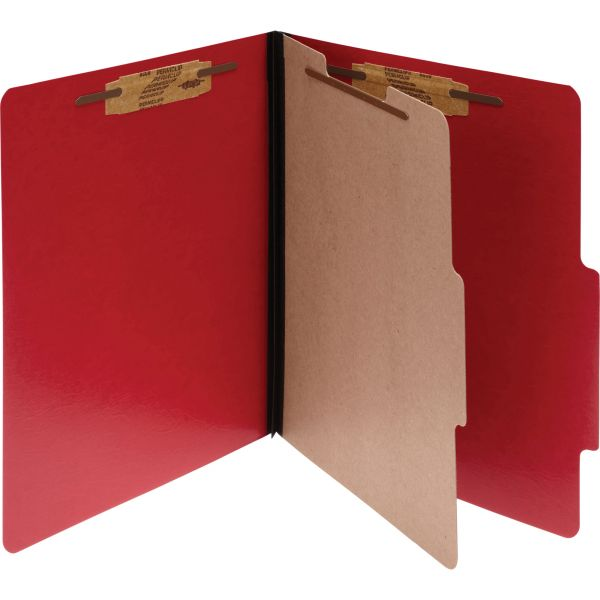 ACCO 1-Divider Presstex Pressboard Classification Folders