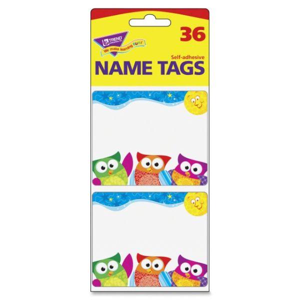 Trend Owl-Stars Terrific Labels