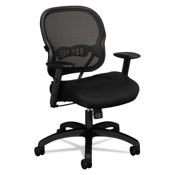 basyx by HON HVL712 Mesh Mid-Back Task Chair