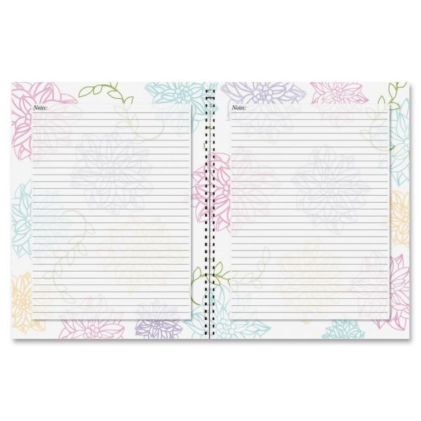 House of Doolittle Whimsical Floral Doodle Notebook