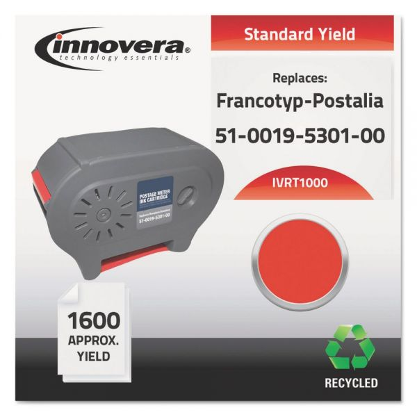Innovera Remanufactured Francotyp-Postalia 51-0019-5301-00 (T-1000) Ink Cartridge