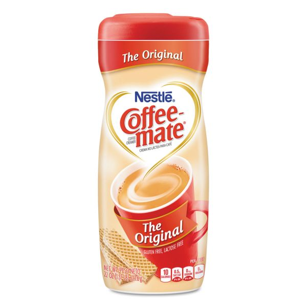 Coffee-mate Original Powdered Creamer, 22oz Canister