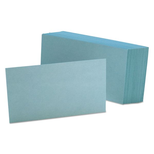 "Esselte 3"" x 5"" Blank Index Cards"