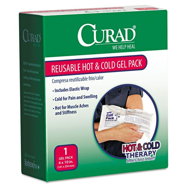 Curad Reusable Hot & Cold Gel Pack