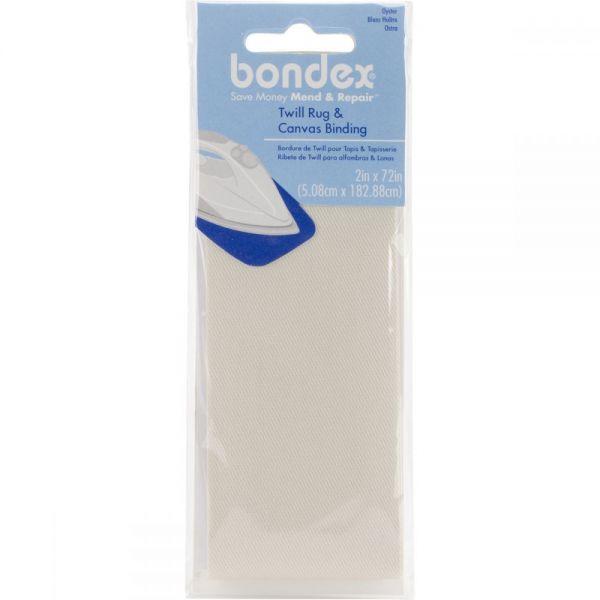"Bondex Iron-On Twill Rug & Canvas Binding 2""X2yd"