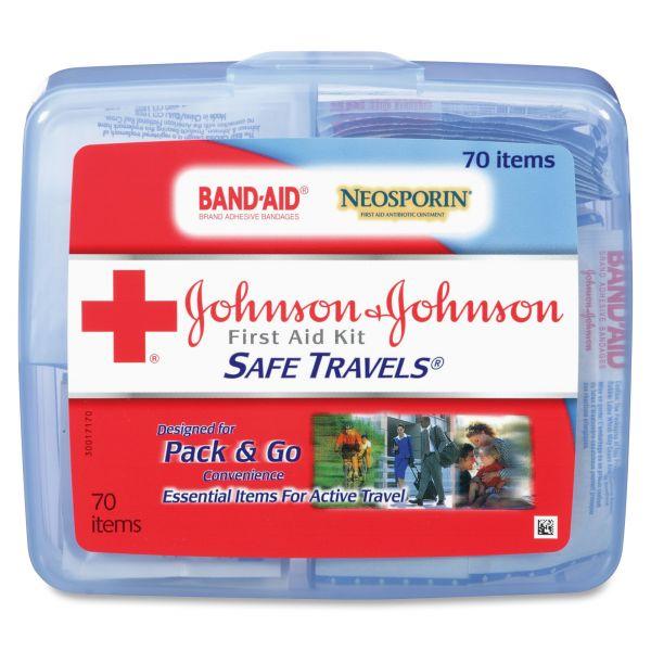 Johnson&Johnson Safe Travels First Aid Kit