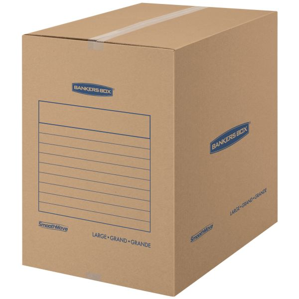 Bankers Box SmoothMove Basic Large Moving Boxes