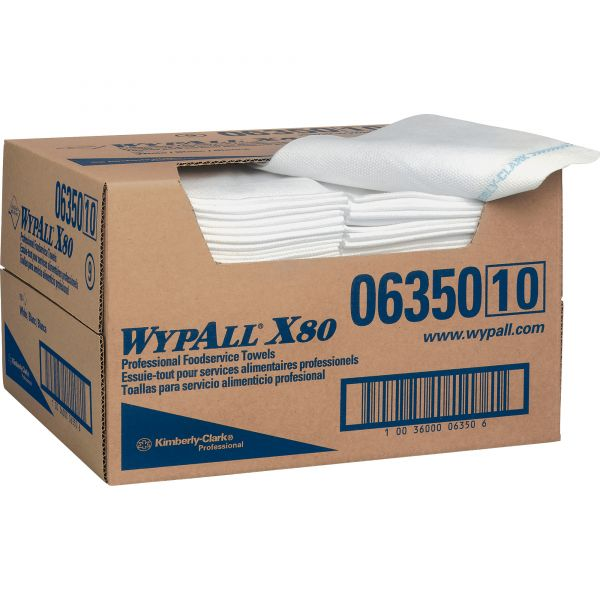 WypAll X80 Foodservice Reusable Towels