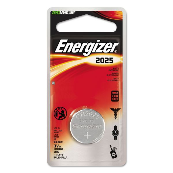 Energizer Watch/Electronic/Specialty Battery, 2025