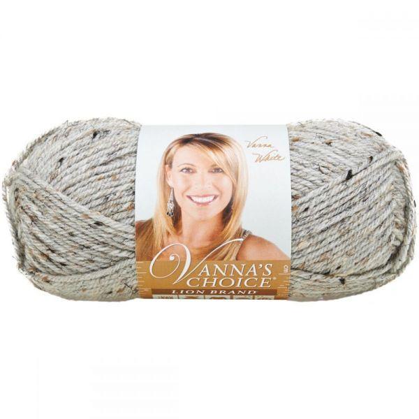 Lion Brand Vanna's Choice Yarn - Gray Marble