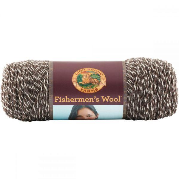 Lion Brand Fishermen's Wool Yarn - Maple Tweed