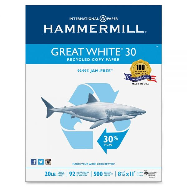 Hammermill White Copy & Multipurpose Paper