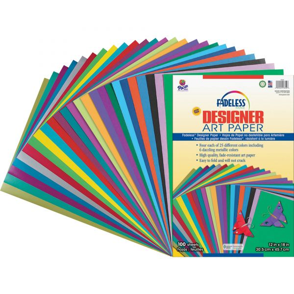 Fadeless Designer Art Paper Sheets