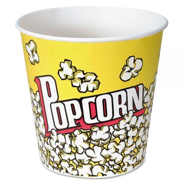 SOLO Cup Company Paper Popcorn Buckets