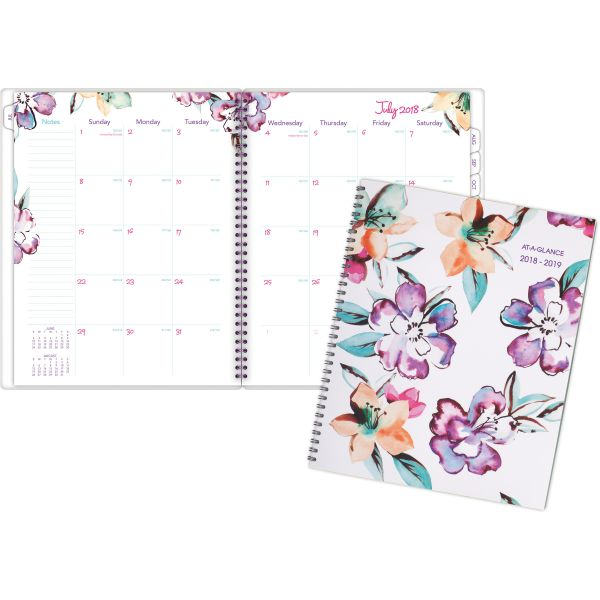 at a glance june monthly academic planner officesupply com