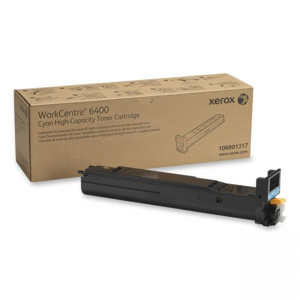Xerox 106R01317 Cyan High Yield Toner Cartridge
