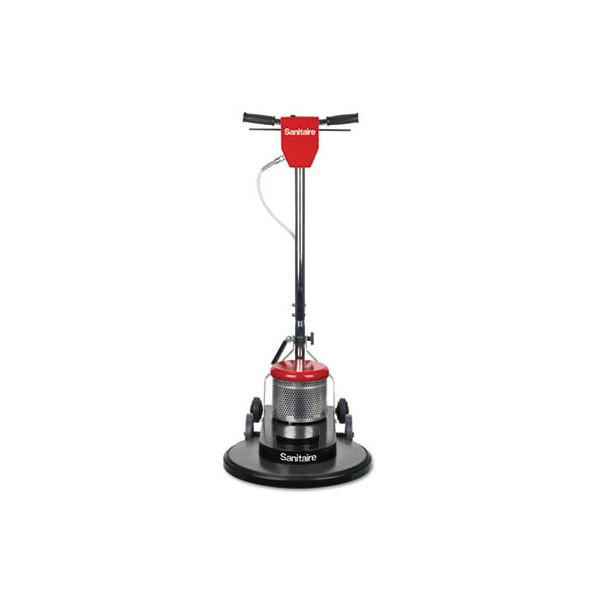 """Sanitaire Commercial High-Speed Floor Burnisher, 1 1/2 HP Motor, 20"""" Pad, 1500 RPM"""