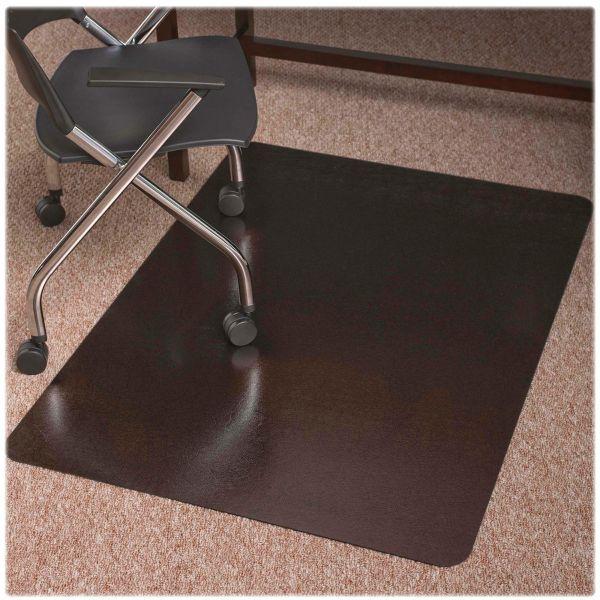 ES Robbins Design Series Laminate Metallic Bronze Chair Mat
