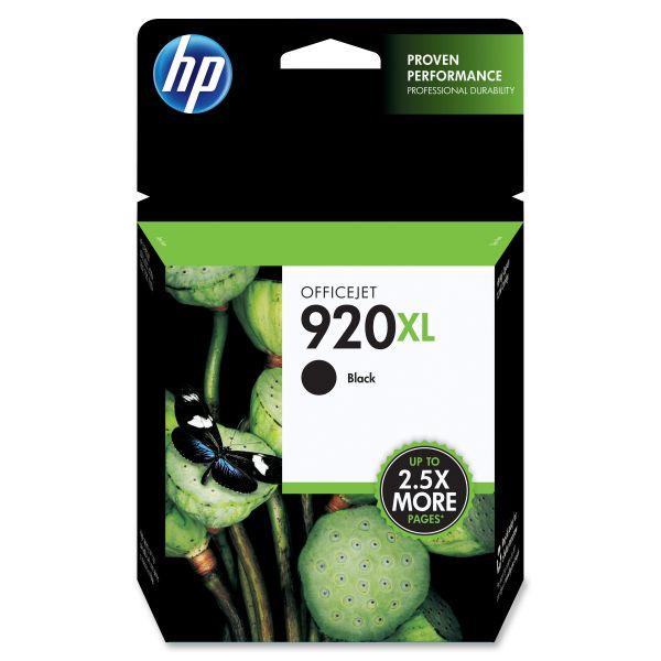 HP 920XL High Yield Black Ink Cartridge (CD975AN)