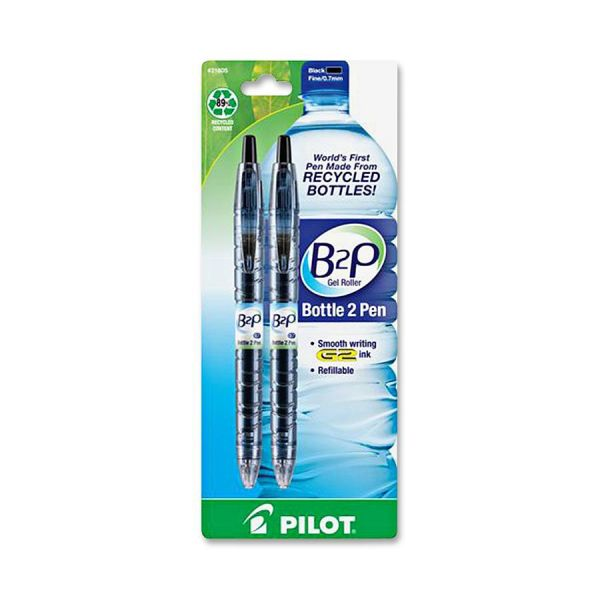 Pilot BeGreen B2P Bottle Roller Ball Retractable Gel Pen