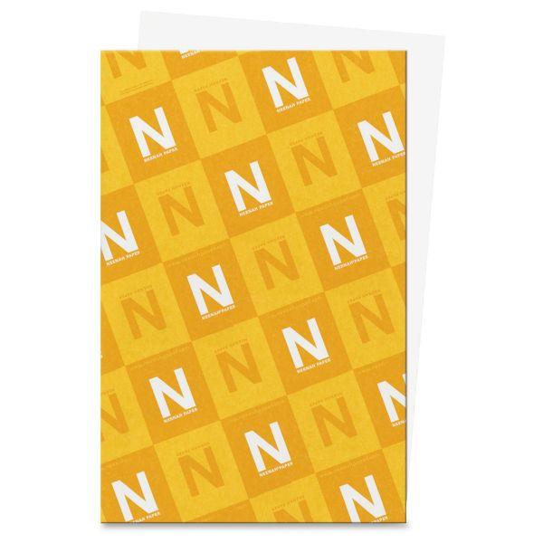 """Neenah Paper Exact Vellum Bristol 11"""" x 17"""" White Cover Stock"""