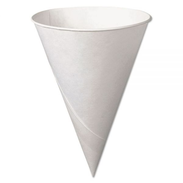 SOLO Cup Company Bare Treated Paper 6 oz Cone Water Cups