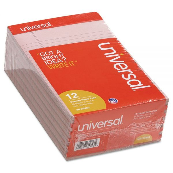 Universal Colored Junior Legal Pads