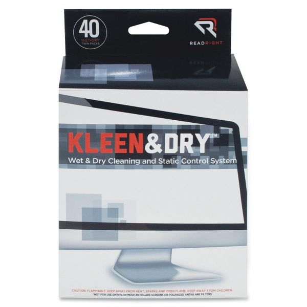 Kleen & Dry Screen Cleaning Pads