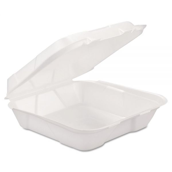 GEN Takeout Foam Clamshell Food Containers