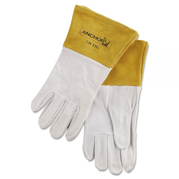 Anchor Brand 120TIG Welding Gloves, Capeskin, Large