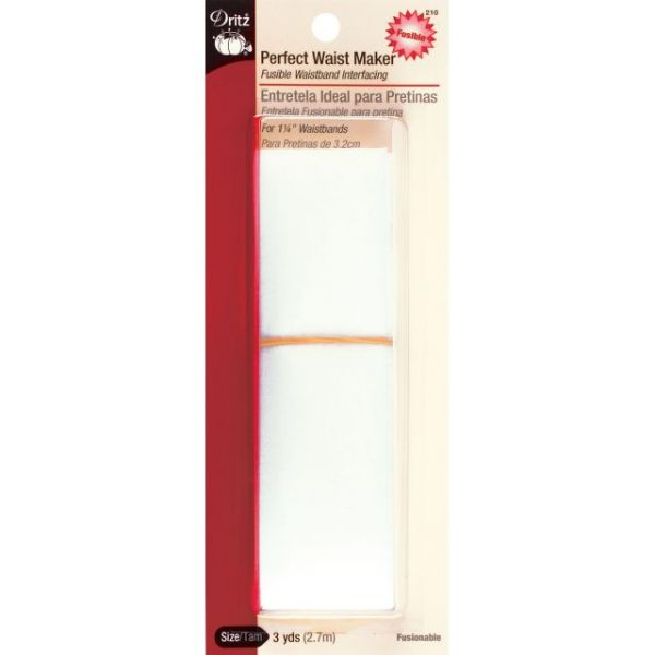 "Perfect Waist Maker Fusible Interfacing 1-1/4""X3yd"