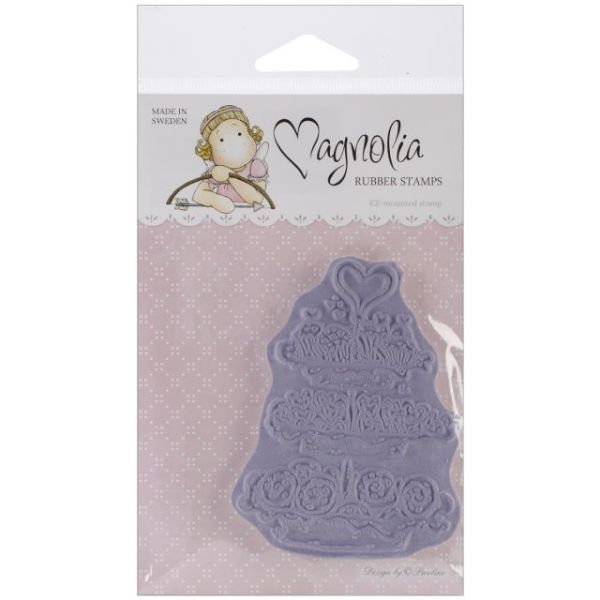 "With Love Cling Stamp 6.5""X4"" Package"