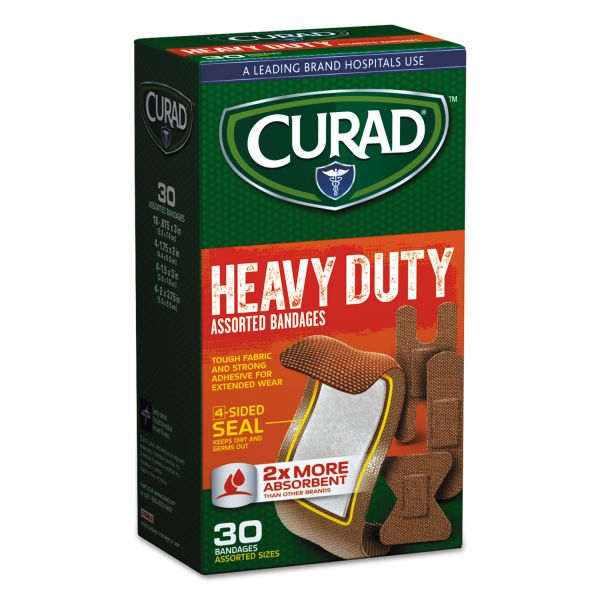 Curad Extreme Hold Assorted Bandages