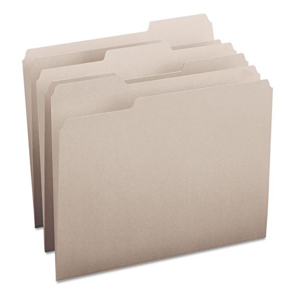 Smead Gray Colored File Folders