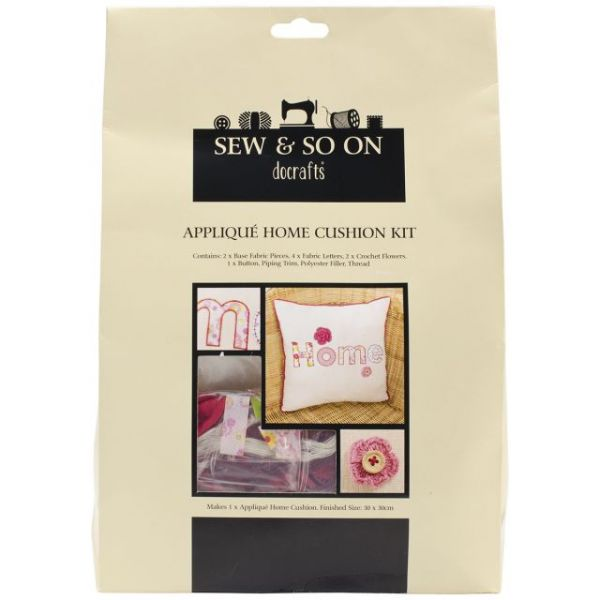 Sew & So On Cushion Kit