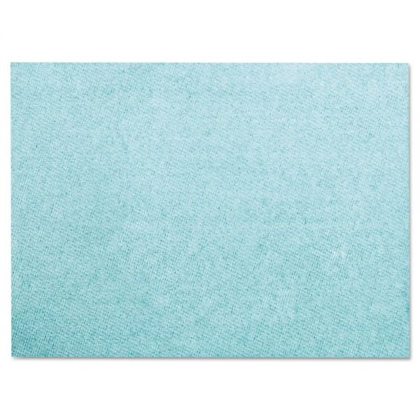 Chix Worxwell General Purpose Towels, 13 x 15, Blue, 300/Carton