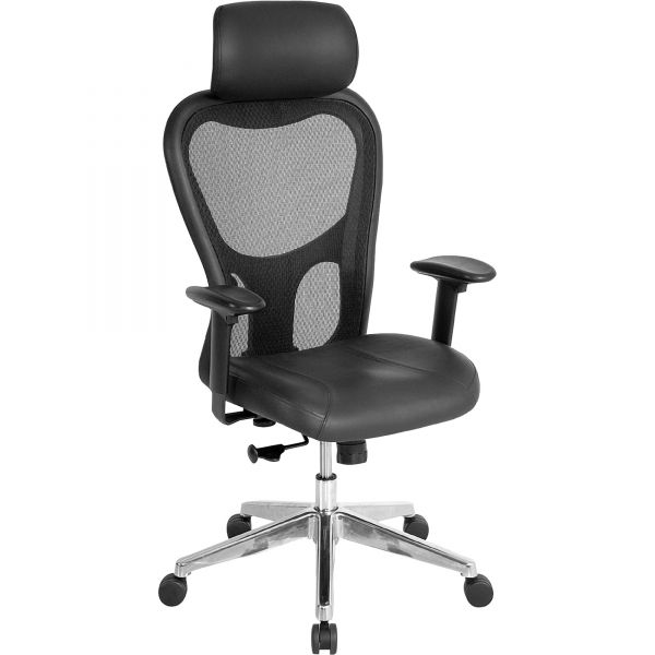 Lorell High Back Executive Mesh Office Chair