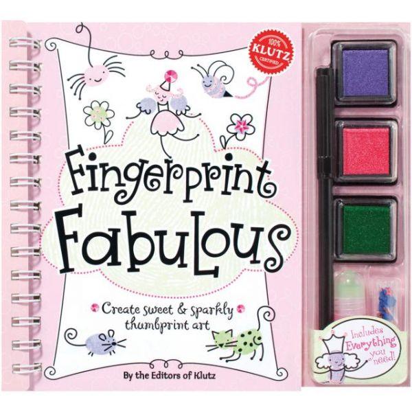 Fingerprint Fabulous Book Kit