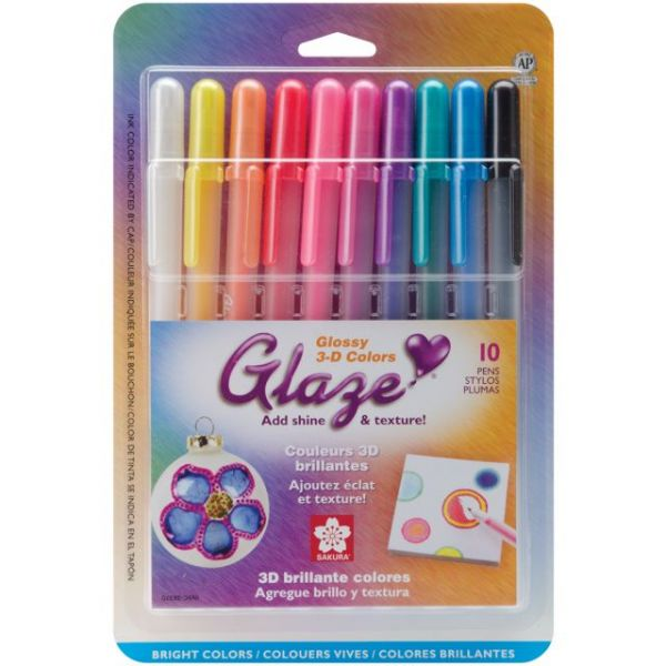 Gelly Roll Glaze Bold Point Pens