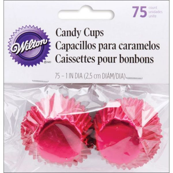 "Candy Cups 1"" 75/Pkg"