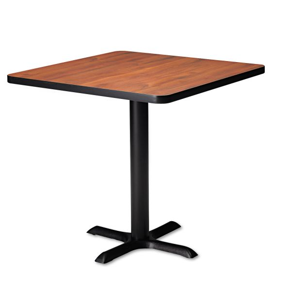 "Tiffany Industries Table Base For 36"" And 42"" Round or Square Table Tops, 28""h, Black"