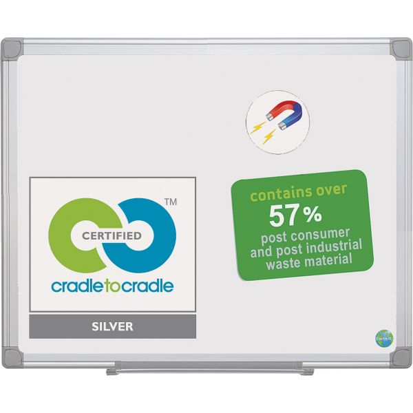 MasterVision 3' x 2' Magnetic Dry Erase Board