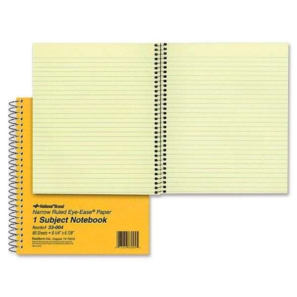 Rediform National 1-Subject Notebook