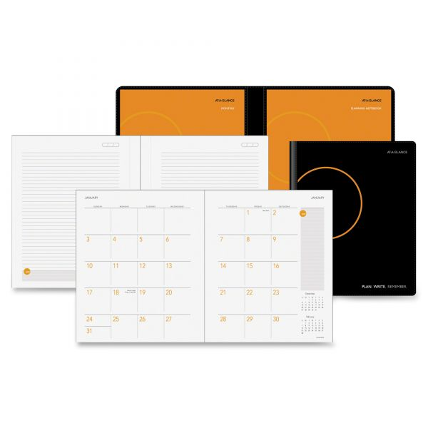At-A-Glance Monthly Planner & Notebook